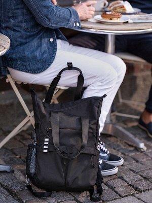 VÄRLDENS ВЭРЛДЕНС Рюкзак, черный31x15x49 см/26 л
