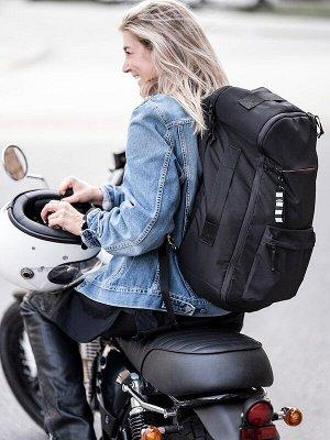 VÄRLDENS ВЭРЛДЕНС Дорожный рюкзак, черный33x17x55 см/36 л