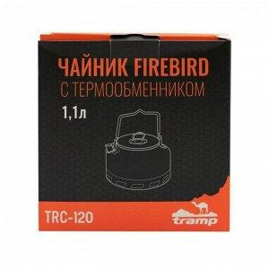 Чайник Tramp Firebird c термообменником 1,1 л