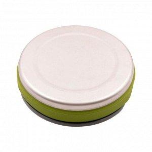 Чайник Tramp складной силиконовый 1 л, цвет оливковый
