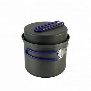 Котел Tramp с крышкой-сковородой из анодированного алюминия 1 л