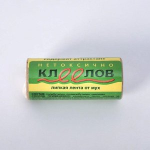 """Липкая лента от мух """"Клеелов"""", 1 шт"""