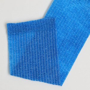 Бинт когезивный, 4,5м х 5см 1шт, эластичный (самофиксирующийся) синий, Вариант спорт