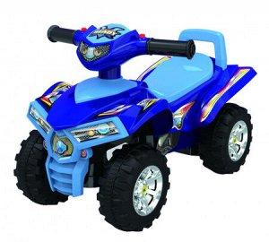 Автомобиль для катания детей (Толокар) 551 (синий)
