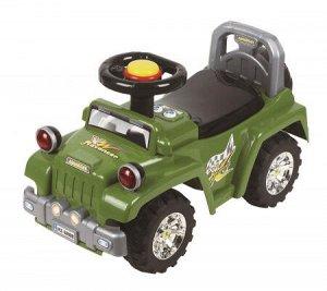 Автомобиль для катания детей (Толокар) 553 (зеленый)