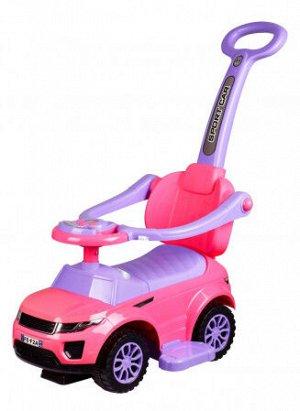 Автомобиль для катания детей (Толокар) 614W (розовый)