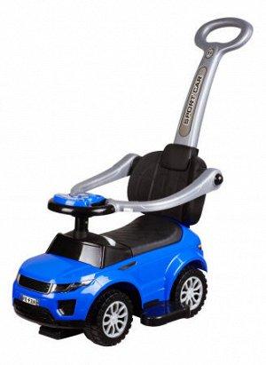 Автомобиль для катания детей (Толокар) 614W (синий)