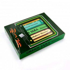 Благовония Тибет  в наборе-5шт Зелёная Тара 150g