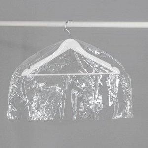 Чехол для одежды 60?30 см, прозрачный