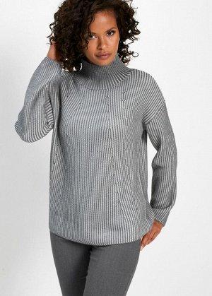 Пуловер Пуловер  цвет  белый  BON_PRIX