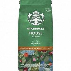 Кофе Starbucks House Blend молотый 200 г