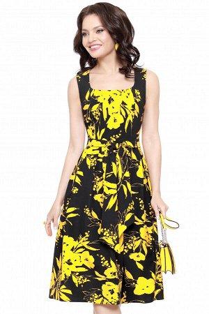 Платье Ключ к сердцу, солнечная