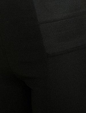 Черные легинсы