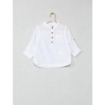 Одежда из Франции для всей семьи — Малыши. Рубашки — Кофточки