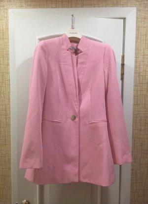 Пиджак Италия! Цвет розовый!