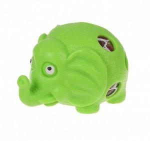 Мялка «Слон», с гидрогелем, цвета МИКС