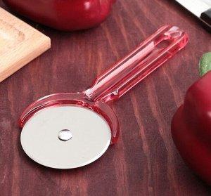 Нож для пиццы и теста Доляна «Леденец», 16,2 см, цвет МИКС