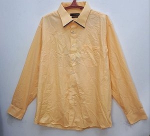 Рубашка мужская оранжевая