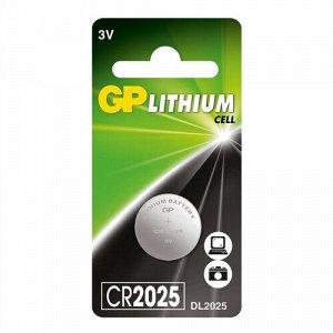 """Батарейка """"GP"""" CR2025"""