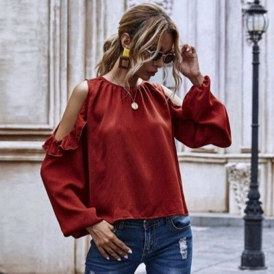 Совершенно 🌼 летняя коллекция женской одежды — Летние блузы с длинным рукавом
