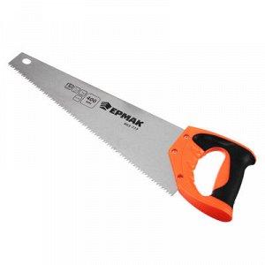 ЕРМАК Ножовка по дереву, 400мм, зуб 5мм.
