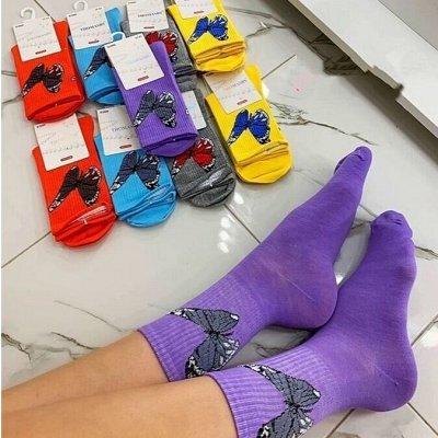SТильная & Трендовая одежда по доступным ценамღ — Яркие носочки