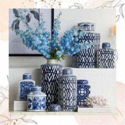Уютный декор для Дома, Удовольствие без Ожидания — Декоративные банки, вазочки, цветочки — Новинки