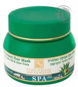 H&b 304 маска из масла авокадо и алоэ для ухода за волосами и кожей головы 250 мл