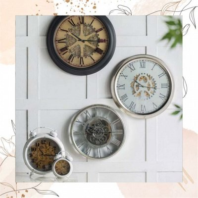 Красиво и удобно, Баночки для Хранения — Украшаем стены - Панно, фоторамки, зеркала, часы