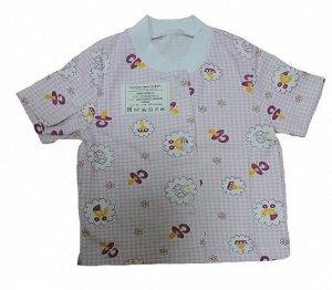 Рубашка короткий рукав (кулир.)