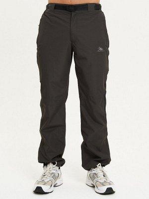 Спортивные брюки Valianly мужские цвета хаки 93230Kh