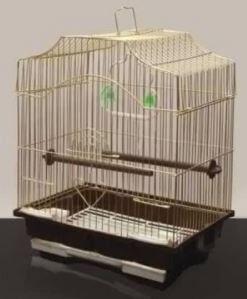 Клетка для птиц Золотая клетка 30*23*39cм, золото