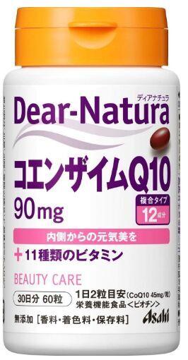 ASAHI Dear Natura Coenzyme Q10 Коэнзим Q10 и 11 витаминов
