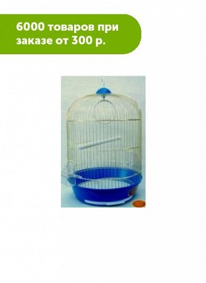 Клетка для птиц Золотая клетка ф33*53см, эмаль