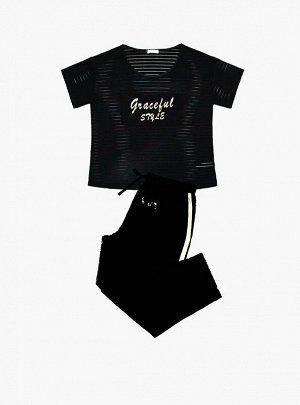 Пижама (Футболка+Бриджи)