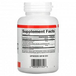 Natural Factors, витамин C, с медленным высвобождением, 1000 мг, 180 таблеток