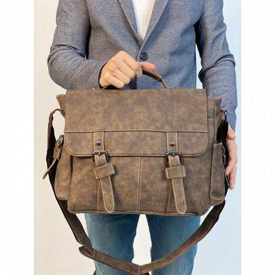 🎁Эксклюзивные кожаные вещи из натуральной кожи — Мужские сумки (ЭКО кожа)