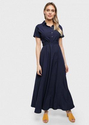 """Платье """"Аламанни"""" для беременных и кормящих; синий"""
