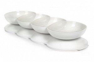 Менажница Аллегро белая с крышкой - Tupperware®