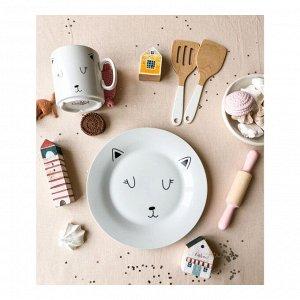 Набор посуды Cat (2 в 1: кружка+тарелка)