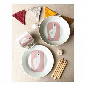 Набор посуды Альпака (3 в 1: кружка+тарелка+глуб. тарелка)