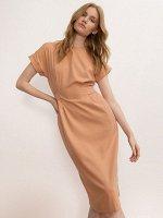 Однотонное платье PL1152/zink
