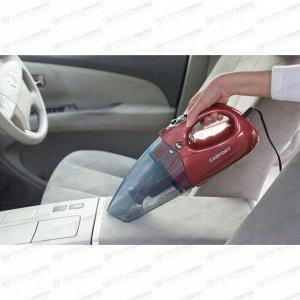 Пылесос автомобильный Carfort Storm 40, 12В, 150В, пылесборник 700мл, шнур 5м, с фонариком, 2 насадки, роторная щетка, салфетка, сумка, CF-V731