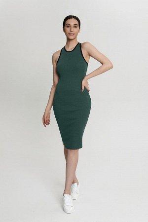 Платье:жен. МОДЕЛЬ 9. Королевская ель