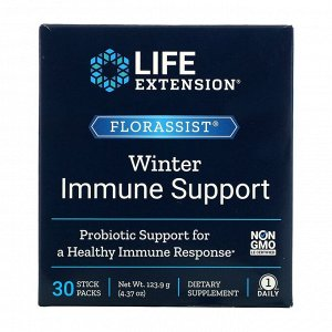 Life Extension, FLORASSIST Winter Immune Support, 30 Stick Packs