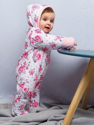 Комбинезон детский трикотажный для девочек