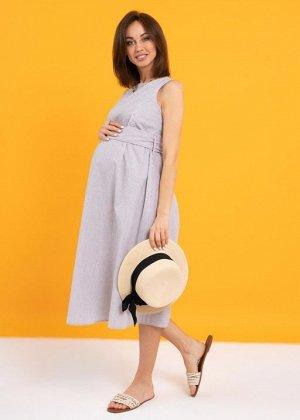"""Платье """"Иоланта"""" для беременных и кормящих; кофейный"""