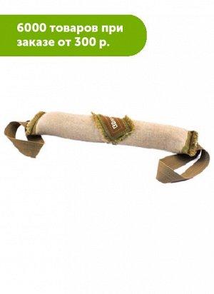 Тягалка-апорт Скалка большая брезент 35см с двумя ручками