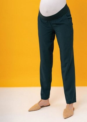 "Летние брюки (штаны) для беременных ""Крафт""; атлантик"