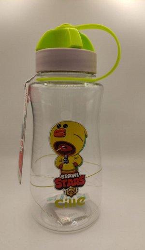 Бутылка для воды желтый бравл